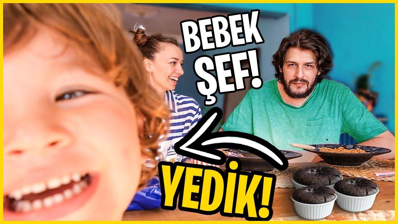 2 YAŞINDA ÇOCUK YAPTI  HER ŞEYİ YEDİK!!!