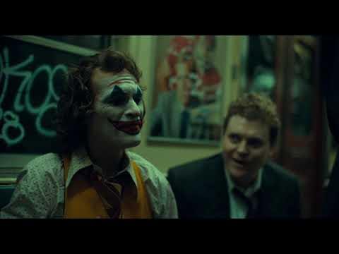 Джокер убивает в метро | Джокер(2019)