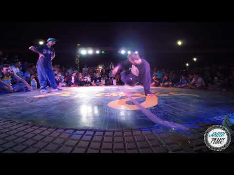 BBOY RAP VS BBOY NIO CUARTOS UCO FREESTYLE 2017