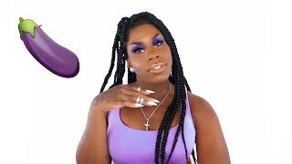Mo Makeup - Purple Glitter Glam Tutorial