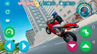Moto Speed The Motorcycle Game - Gameplay Android game - Motorbike Driving Game