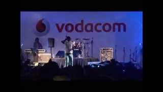 Khuli Chana performs Tswa Daar at the 2012 Vodacom Summa Concert
