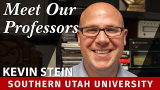 Meet Our Professors: Kevin Stein, Communications