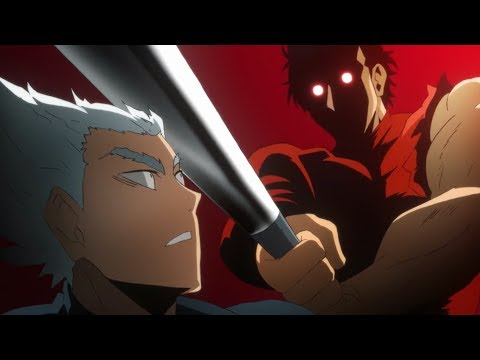 Metal Bat Vs Hero Hunter One Punch Man S2 E5