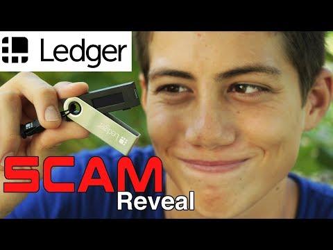 Ledger Nano S SCAM/HACK Explained