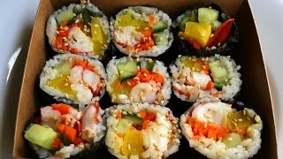 Lobster gimbap (kimbap:랍스터 김밥)
