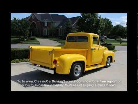 1956 Ford F-100 Pickup Classic Muscle Car for Sale in MI Vangaurd Motor Sales