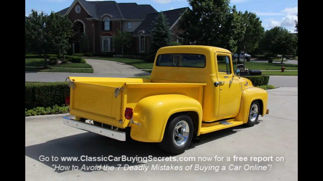 1956 Ford F 100 Pickup Classic Muscle Car For Sale In Mi