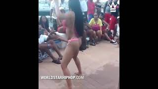 Footage Of Cardi B Twerking Before She Got Butt Implants!