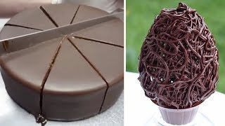 How To Make Chocolate Cake Decorating Recipes  Most Satisfying Chocolate Cake Videos 2020