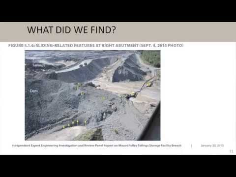 Independent Panel Review Of Mount Polley TSF - Full Presentation