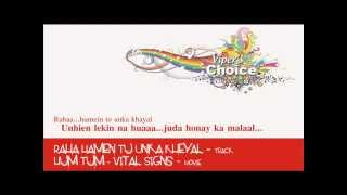 Raha Hamen Tu Unka Kheyal - Hum Tum (Vital Signs)