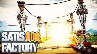 SATISFACTORY ⚙️ 006: Die Allee nach Reaktor-City