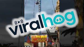 Man Hangs From Bungee Ride at California Fair