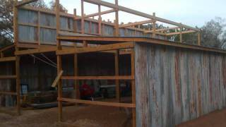 Barn Raising In Texas.wmv