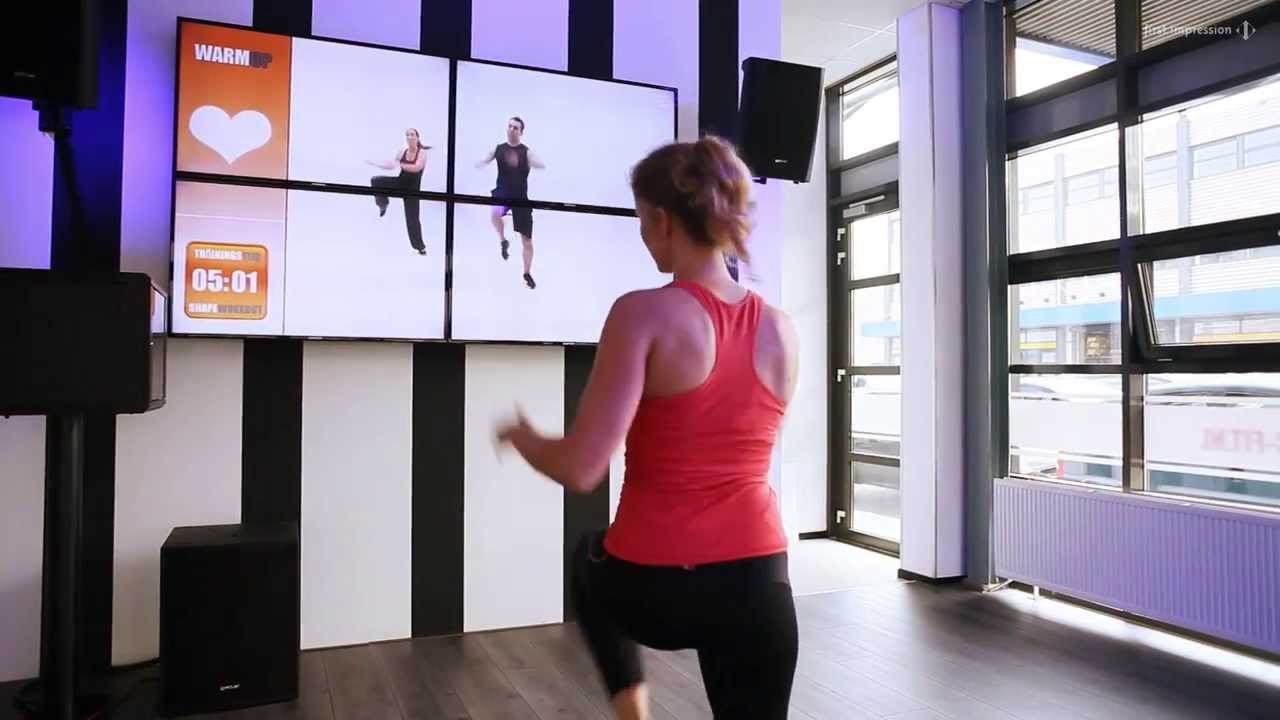Virtual fitness by first impression youtube for Basic fit inschrijven