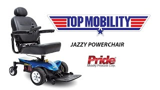 MOM ON THE MOVE WITH THE JAZZY POWERCHAIR FROM TOP MOBILITY