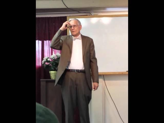 Jim Sloan visited Bethel