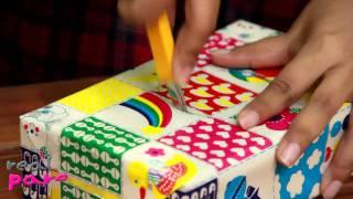 Repeat youtube video real-parenting สอนทำกีต้าร์จากกล่องกระดาษ