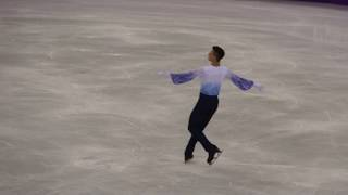 Daniel SAMOHIN, Israel,  RANK:13 Total:251,44 -2018 Pyeongchang  Men Single Free Skating