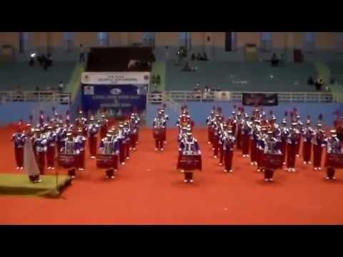 Kereta Malam--Gambang Suling...SMA Marie Joseph @Marching Band Depok Open Competition