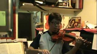 John Barry James Bond 007 Theme Song for Violin Solo by Orson Yang