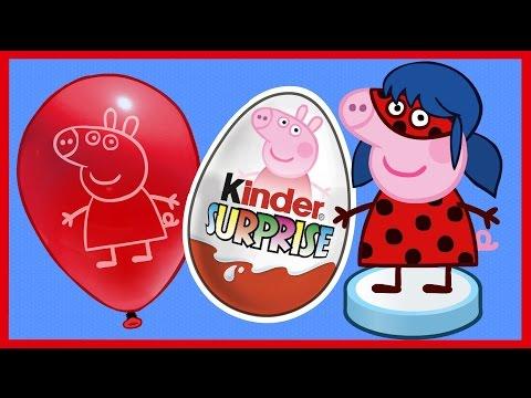 Киндер Сюрприз. Свинка Пеппа и супергерои. 2 СЕРИЯ. Peppa Pig. Kinder Surprise