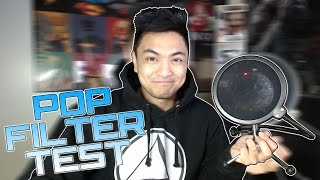 10$ Pop Filter Review & Test