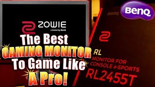 zOWIE BenQ RL2455T Review and Actual Gameplay! RL2455T Best Settings For A Gaming Advantage