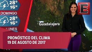 Clima para hoy 19 de agosto de 2017