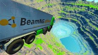 Insane Car Jumps & Free Falls #9 BeamNG.Drive