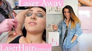 LASER HAIR REMOVAL @Laser Away |VLOG