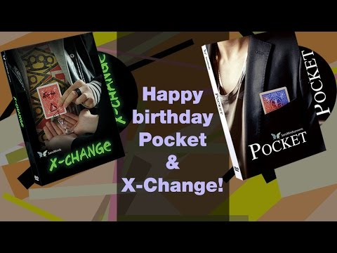 Happy Birthday to Pocket and X-Change, Tips for using invisible threads, and Memorial Day