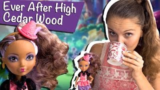 Cedar Wood Hat-Tastic Party (Сидар Вуд Чайная вечеринка) Ever After High Обзор/Review, BJH32