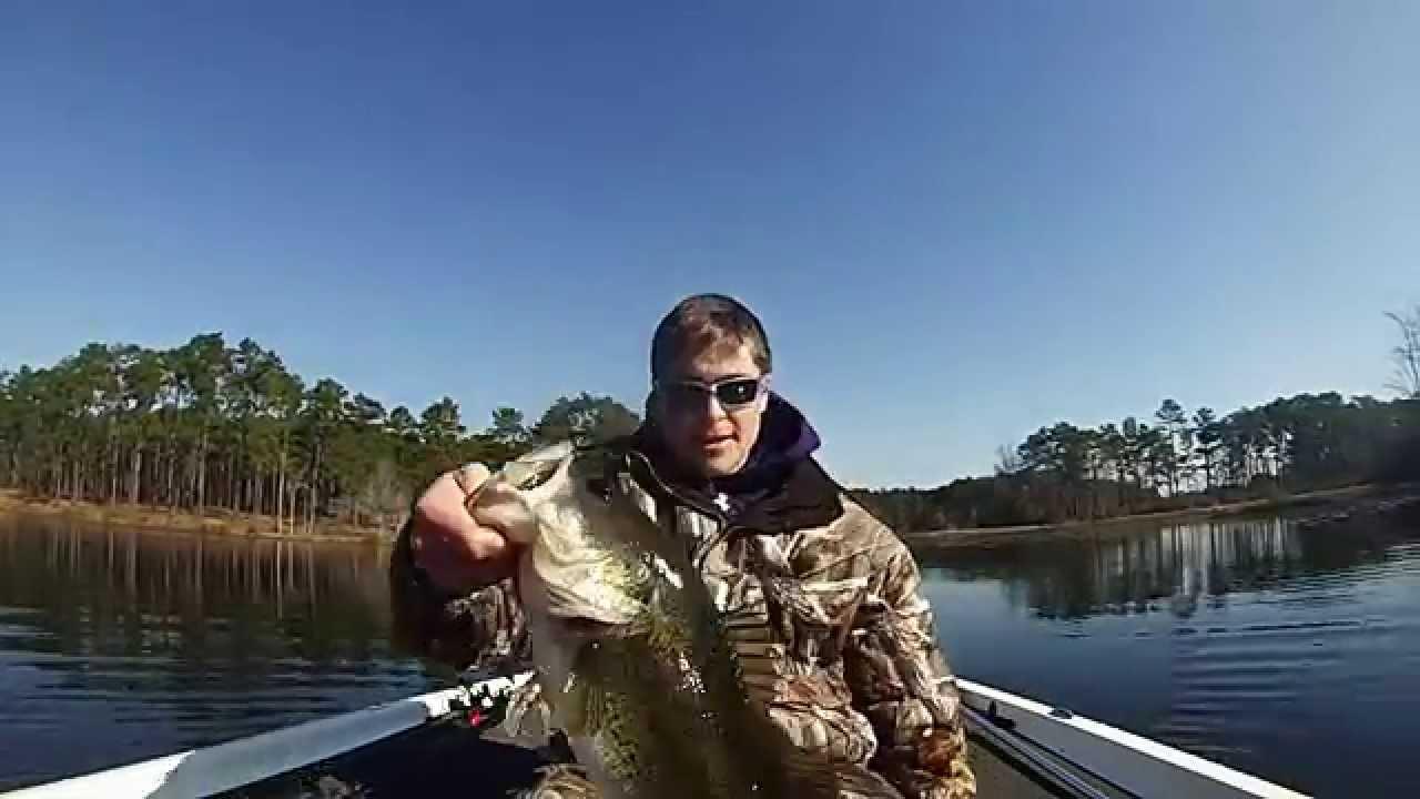 Flw southeastern qualifier lake seminole ecu youtube for Lake seminole fishing