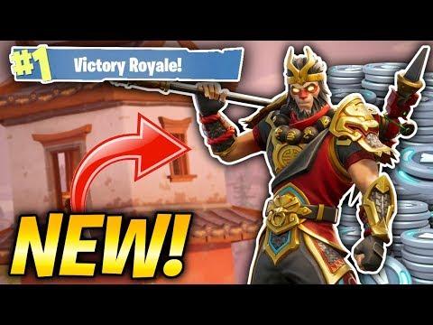 NEW MONKEY KING SKIN IN FORTNITE! LUNAR NEW YEAR UPDATE! (Fortnite Battle Royale Livestream)