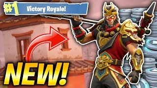 NEW MONKEY KING SKIN IN FORTNITE! LUNAR NEW YEAR UPDATE! (Fortnite Battle Royale Livestream)