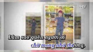 [Karaoke] Âm Thầm Bên Em - Sơn Tùng MTP