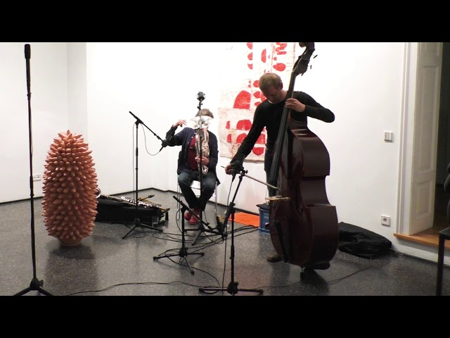 Udo Schindler und Thomas Stempkowski live in der Galerie arToxin, Teil 3