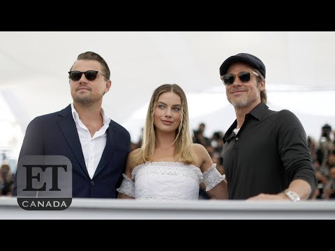 Brad Pitt, Leo DiCaprio & Margot Robbie Bond In Cannes