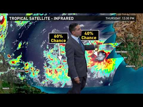 Weather Briefing: Tracking Tropical Storm Jose and tropics outlook, 9/14/17