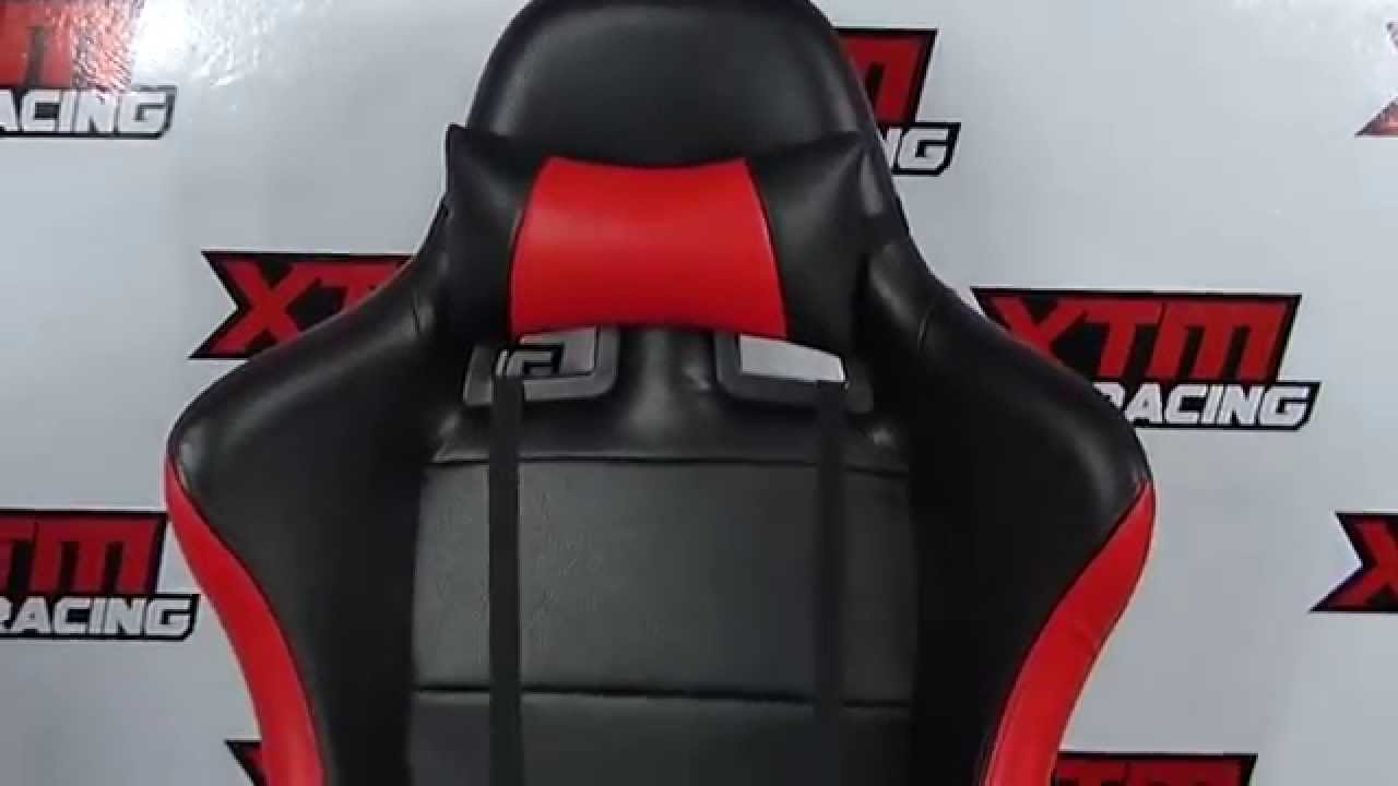Silla para gamer xtm racing chair gaming youtube for Sillas para gamers