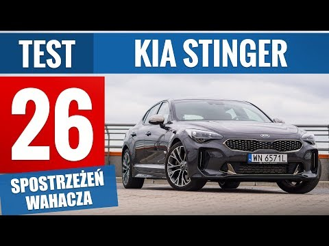 KIA Stinger 2.0 T-GDI 245 KM GT Line (2019) - TEST PL