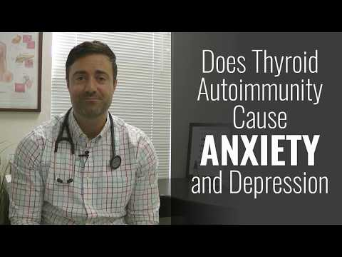 Does Thyroid Autoimmunity Cause Anxiety and Depression