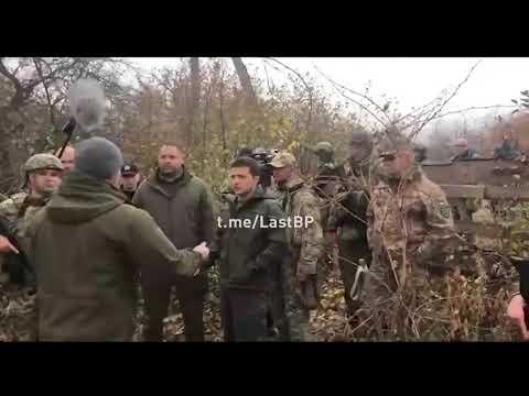 """""""Я не лох"""" - Зеленский хамит добровольцу"""