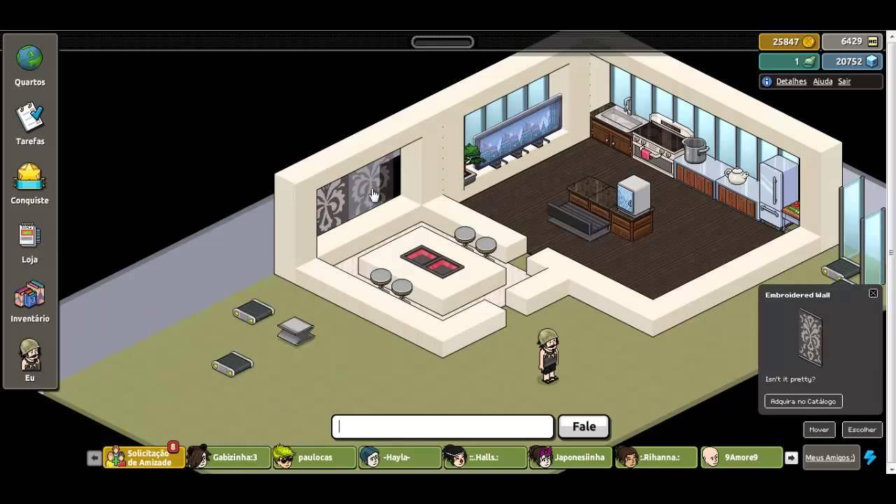 Constru o relampago 2 casa xd youtube for Casa moderna en habbo fantasy