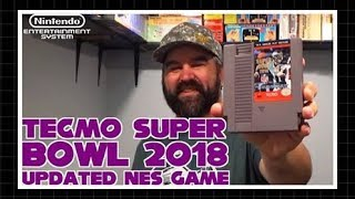 Tecmo Super Bowl 2018 Updated NES Game