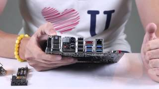 [amtech.vn]ASUS Maximus VI Impact - tinh hoa R.O.G trong một thiết kế mini ITX