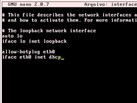 Configuração de Rede no Debian (linux) com máquinas Windows (SAMBA 1º PARTE)