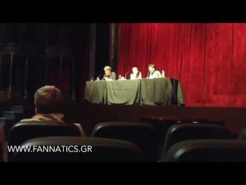 Press Conference at Pantheon Theatre, 29/09/2014 [fannatics.gr]